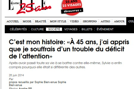 TDAH Adulte – Apprendre à l'âge adulte, que l'on souffre d'un trouble du déficit de l'attention