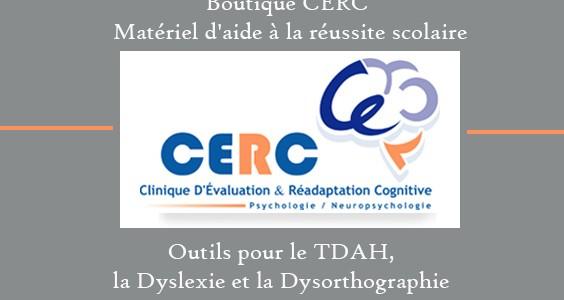 Boutique CERC – Matériel d'aide à la réussite scolaire ( TDAH / Canada )