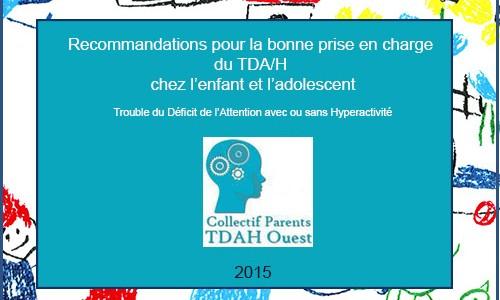 Recommandations du CPTO pour le TDAH chez l'enfant et l'adolescent