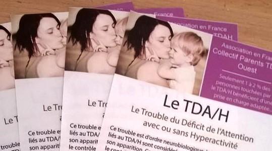 Flyer de l'Association Française C.P.T.O. sur le TDAH – Nous vous offrons ce support de communication pour informer votre entourage ….